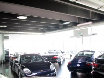 Impianto illuminazione concessionaria Supercar a Cittadella
