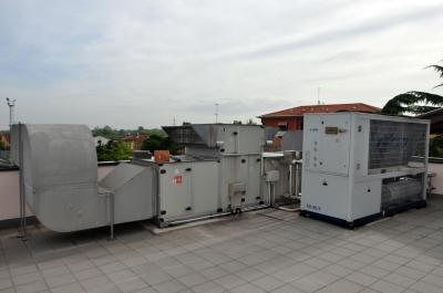 Impianto elettrico al patronato di Robegano (VE)