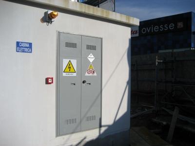 Impianto elettrico al Sea Life di Jesolo